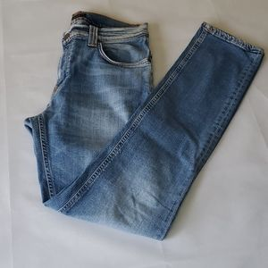 NWOT - Nudie Mens Thin Finn Broken Sage Jeans
